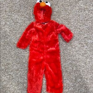 Size small 2T Elmo costume
